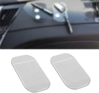 Door Pocket Liners Car Luminous Silicone Interior Pad Set Fit for Kia Stonic 2018 2019 2020 Center Console Liner Mats ZHANGDAN Car Interior Non-Slip Anti Dust Cup Holder Inserts
