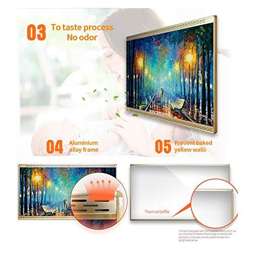 HL Heizung Panel Gut Montiert Carbon Kristall Infrarot Heizung Bad Home Office Kühler 800 Bild 6*