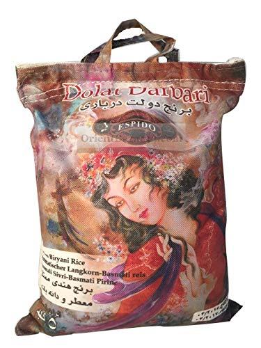 dowlat Lang grano riso in India 5kg