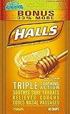 Best Health Cough Drops - Halls Menthol - Cough Suppressant/Oral Anesthetic, Honey-Lemon, Drops Review