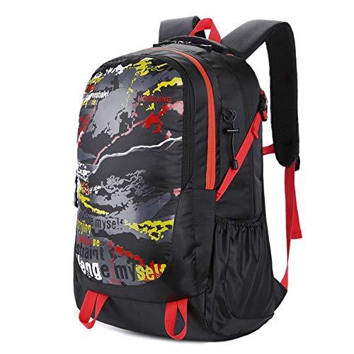 ZhongYi Mountaineering bag Outdoor reisrugzak Grote capaciteit trekking fietstas camping rugzak A