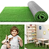 COCOBOO Artificial Grass Rug 3x5 FT(15 Square FT), Realistic Synthetic Grass Turf, Outdoor Garden Lawn Landscape for Pets, Fake Grass Rug with Drainage Holes