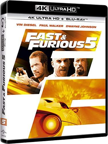 A todo gas 5 (4K Ultra HD + BD) [Blu-ray]