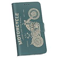 igcase iPhoneSE ケース カバー 手帳 スマコレ 手帳型 レザー 手帳タイプ 革 スマホケース スマホカバー 010466 乗り物 バイク レトロ