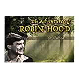 Film-Action The Adventures of Robin Hood, Leinwand-Poster,