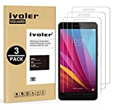 iVoler [Pack de 3] Verre Trempé pour Huawei Honor 5X, Film Protection en Verre...