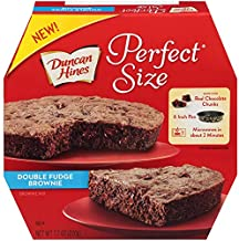 Duncan Hines Perfect Size, Double Fudge Brownie Mix, 7.7 Ounce