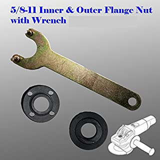 Grinder Flange Lock Nut Wrench Kit for Dewalt Milwaukee Makita Bosch Black & Decker Ryobi 4.5