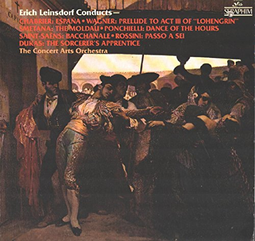 Erich Leinsdorf / The Concert Arts Orchestra: Conducts Espana And Other Selections LP VG+/NM -  Vinyl