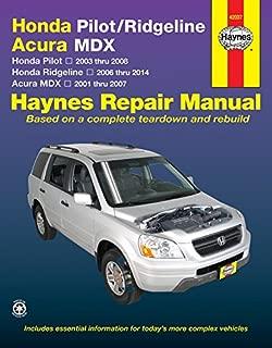 Honda Pilot (03-08), Ridgeline (06-14) & Acura Mdx (01-07) Technical Repair Manual (Haynes Repair Manual)