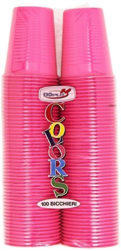 Colors - Bichieri, In Plastica, 100 Bicchieri
