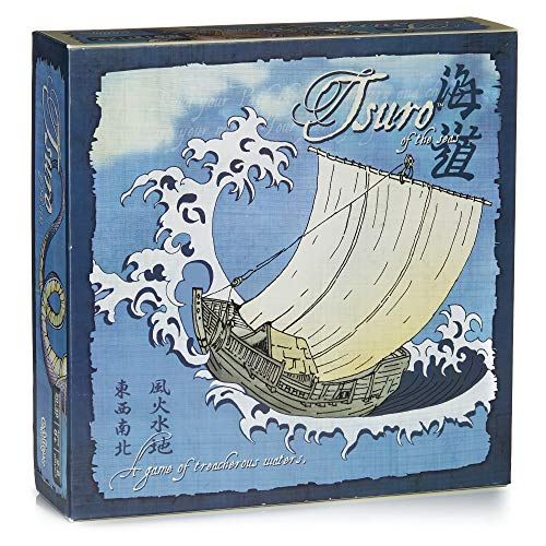 Calliope Games CLP 119 Tsuro of The Seas, Brettspiel, Blue