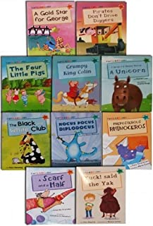 Read at Home Early Readers 10 Book Banded School Picture book Gift Set Pack (Graded Reading)