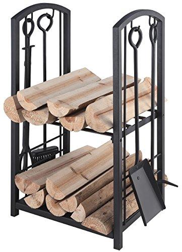 Lienbacher 21.00.208.2 carrello e supporto per legna