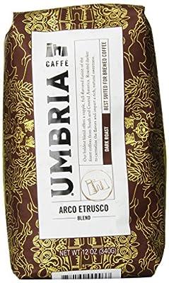 Caffe Umbria Fresh Seattle Whole Bean Roasted Coffee, 12 oz.Bag