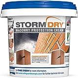 Stormdry impregnante hidrófugo para humedades causadas por filtraciones de agua - 5L - Proporciona 25 años de protección contra la humedad penetrante