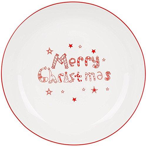 Warm zjyhpm Vajilla De Cerámica De Navidad Inicio Grandes Platos Platos Occidentales...