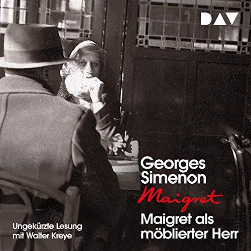 Maigret als möblierter Herr cover art