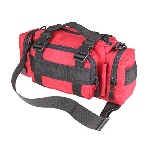 CONDOR 127-010 Modular Style Deployment Bag Red