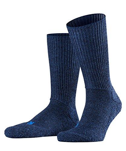 FALKE Unisex Socken Walkie Ergo U SO -16480, 1 Paar, Blau (Jeans 6670), 39-41