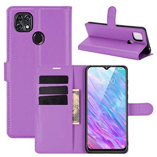 betterfon | Handyhülle ZTE Blade 10 Smart - Hülle Handy Tasche PU Leder mit Magnetverschluss/Kartenfächer für ZTE Blade 10 Lila