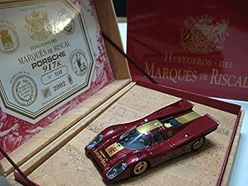 Fly Porsche 917K  Herederos Del Marques de Riscal  Plastic Slot Car 1 32  Spain  Maroon/Gold Nib