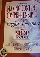 Making Content Comprehensible for English learners: The Siop Model, 2nd Second Edition