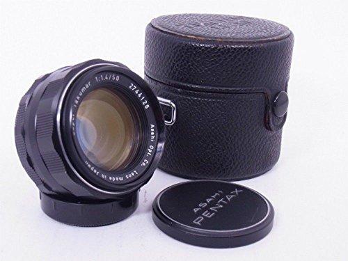 Asahi Pentax Super Takumar 50mm F/1.4 Prime Lens, Fully Cla'ed, UV De-yellowed