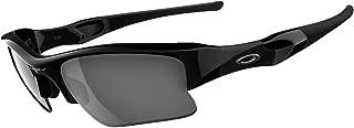 Oakley Flak Jacket XLJ Sunglasses,Jet Black/Black