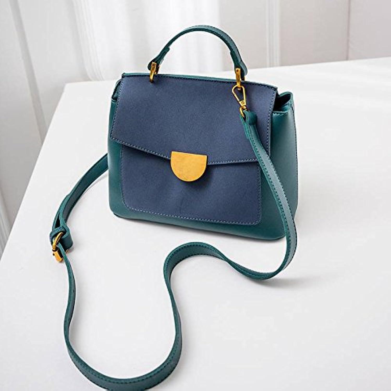 YTTY Doktor Tasche Trendige Wilde Umhngetasche Mode Diagonal Paket Retro Mattiert Tragbare Handtasche, Blauer See