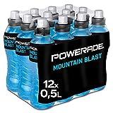 Powerade Mountain Blast, 12 x 500ml. Bebida Energetica