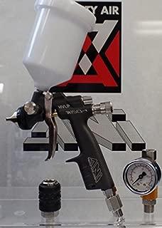 R150 ANI HVLP 250 cc Mini Spray Gun FREE NYLON CUP FREE AIR REGULATOR AND FREE QUICK COUPLER (1.0)