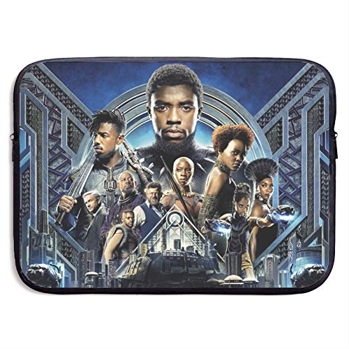 Black Panther Laptop Sleeve Bag, 13 Inch 15 Inch Waterproof Neoprene Protective Bag Case Cover Compatible with MacBook Air/Pro Notebook Computer