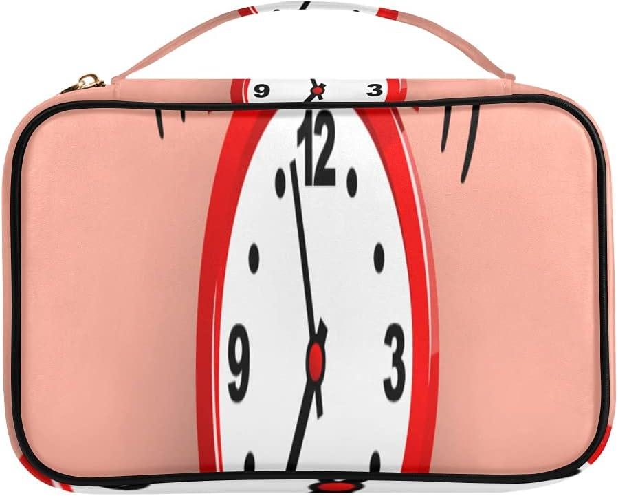 Jewelry Max 73% OFF Box Organizers Alarm Clock Wake-up Time Jewlery Case Por Mail order