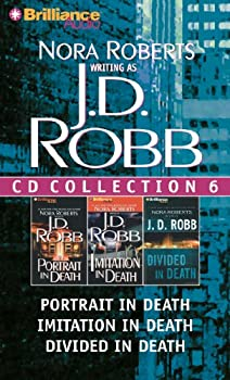 Audio CD J. D. Robb CD Collection 6: Portrait in Death, Imitation in Death, Divided in Death (In Death Series) Book