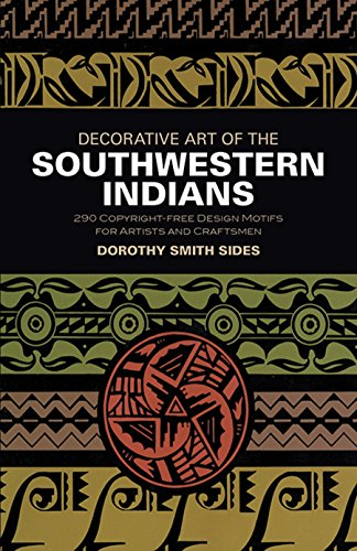 Decorative Art of the Southwestern Indians (Dover Pictorial Archive)