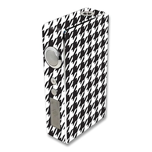 MightySkins Skin Compatible with Sigelei 100W Plus / 150W – Houndstooth | Protective, Durable, and Unique Vinyl Decal wrap Cover | Easy to Apply, Remove, and Change Styles | Made in The USA