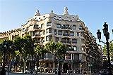 Pintura De Diamante Diy Por Kit Numerado, Taladro Completo Casa Mila Barcelona Arte De Punto De Cruz Decoración De Pared Artesanal 30x40cm