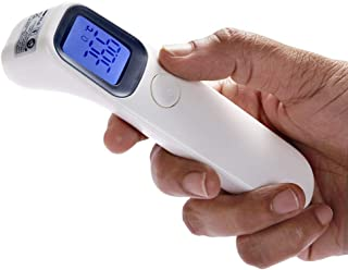 Mediweave Compact Digital Infrared (IR) Thermometer Gun AET-R1D1 (1 Pieces), CE and RoHS Certified