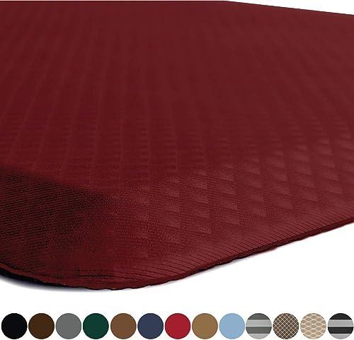 Kangaroo Original Standing Mat Kitchen Rug, Anti Fatigue Comfort Flooring, Phthalate Free, Commercial Grade Pads, Erg...