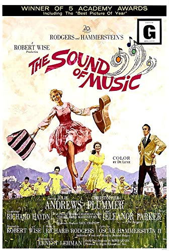 Posters - The Sound of Music Movie Poster - MOV248 12x18inch(30x45cm)