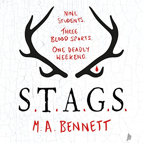 STAGS audiobook cover art