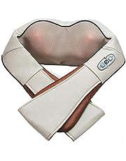 Electric Shiatsu Kneading Neck Shoulder Body Massager With Heat Health Care