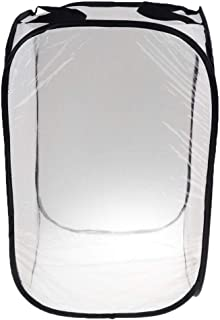 Flameer Foldable Mesh Nest Insect Cage Farm Feed Housing Enclosure Breeding Box - 40x40x60cm