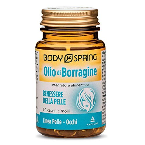 Body Spring Olio di Borragine - 50 capsule molli