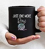 just one more row mug crochet mug crochet gift crochet gift crochet mug crocheting mug crocheting gift