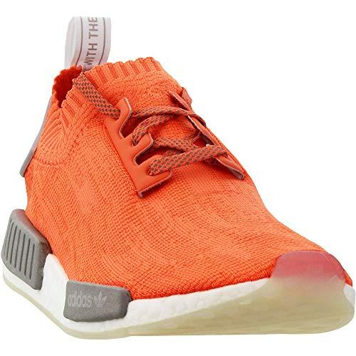 Adidas NMD_R1 Primeknit Freizeit-Sneaker für Herren, Orange (Orange), 41 EU