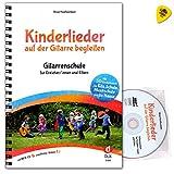 Canciones infantiles en la guitarra – Escuela de guitarra para educadores/padres – con 50 canciones conocidas y nuevas – notas con CD, vídeos en línea, Dunlop Plek