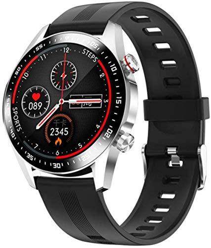Reloj inteligente con Bluetooth para hombre, resistente al agua, movimiento, medición de frecuencia cardíaca, sueño, presión arterial, relojes para mujeres