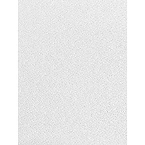 Syntego 100 Hojas A4 de Papel Martillado Blanco con Textura 120 g/m², Apto para impresoras de inyección de Tinta e impresoras láser
